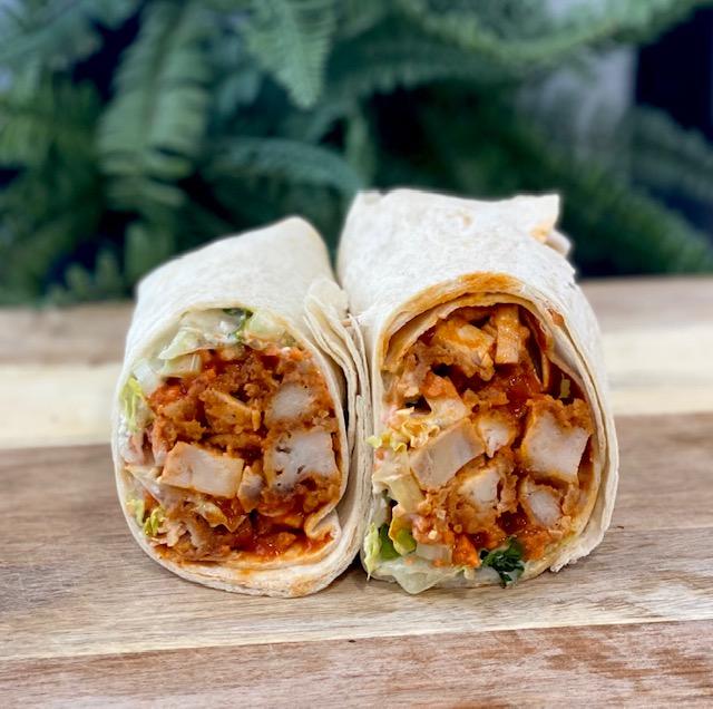 Buff Chicken Wrap